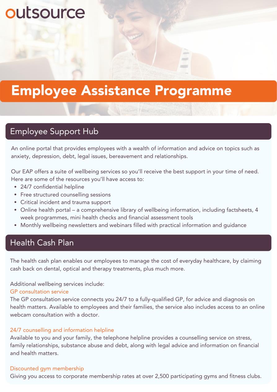 OUK Employee Assistance Programme