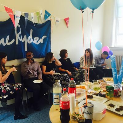 Charity luncheon for Sue Ryder